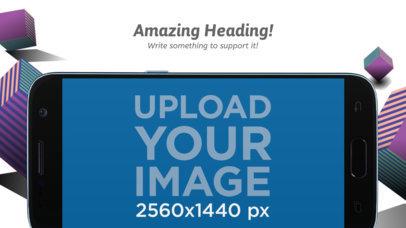 Landscape Black Samsung Galaxy Android Screenshot Maker a16024