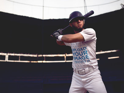 Baseball Uniform Designer - Batter at the Batting Plate a16343