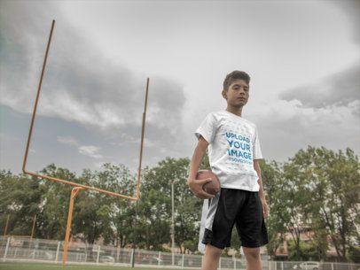 Custom Football Jerseys - Kid at the Field a16475