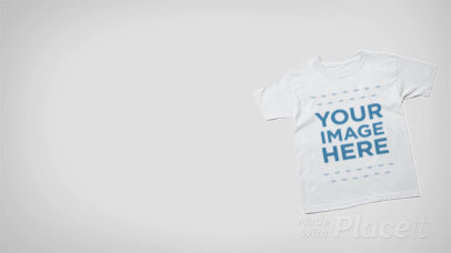 T-Shirt Crossing Horizontally in Stop Motion a13276