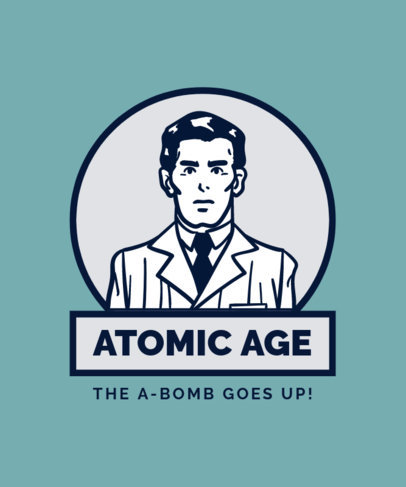 Atomic Age Design Maker for Retro Shirts a13