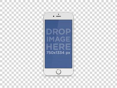 White iPhone 6 Portrait