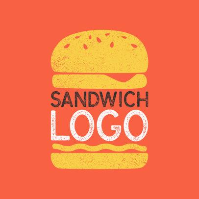 Restaurant Logo Design Maker with Split Design a1024