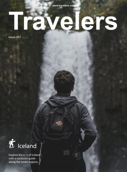 Travel Magazine Cover Maker a48