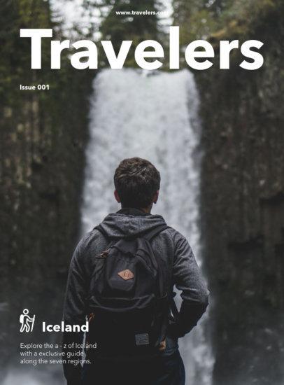 Travel Magazine Cover Maker a48
