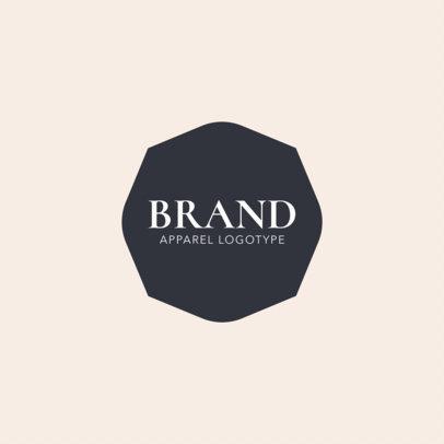 Clothing Brand Logo Maker a1053