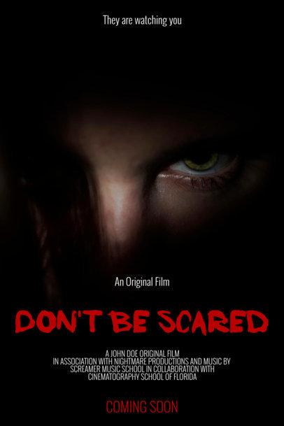 Online Poster Maker - Horror Film Poster Template a57