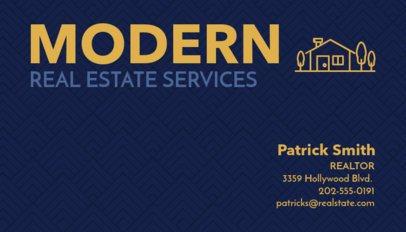 Real Estate Business Cards Maker a66