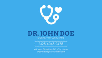 Doctor Business Card Maker a74