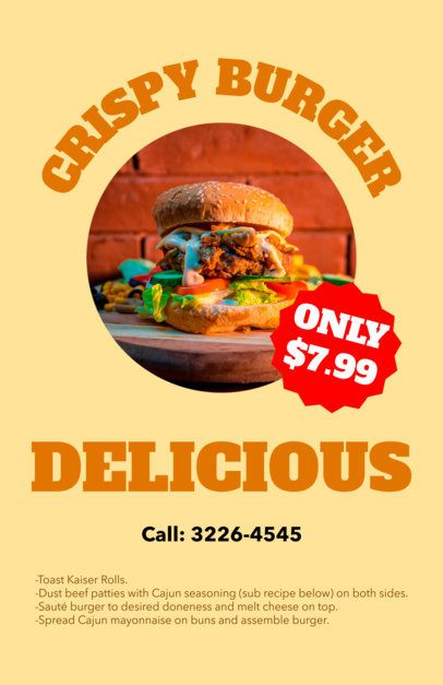 Food Flyer Maker a96