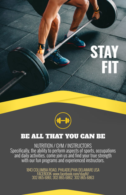 Fitness Flyer Maker a92