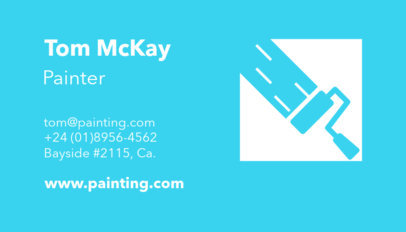 Painter Business Card Template a116