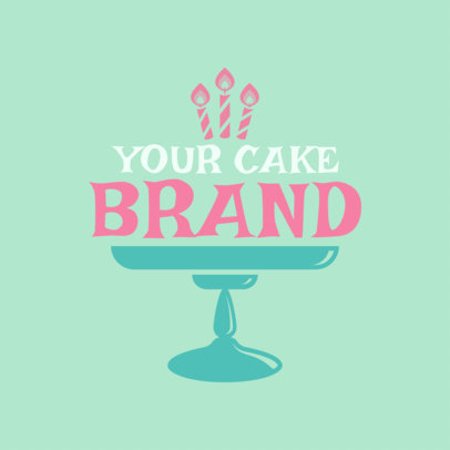 Cupcake Shop Logo Maker a1114