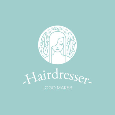 Hair Salon Logo Maker a1153