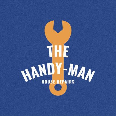 Logo Maker to Design a Handyman Logo a1156