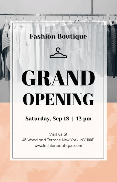 Grand Opening Flyer Maker a161