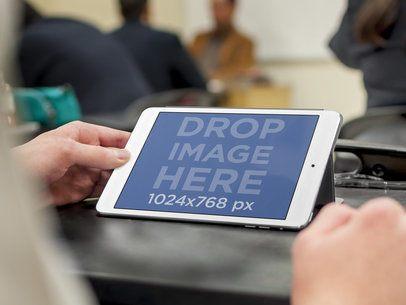 iPad Mini at Classroom