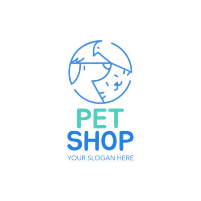 Pet Store Logo Maker a1191