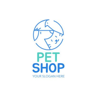 Pet Store Logo Maker a1191