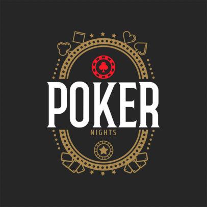 Online Gambling Site Logo Maker a1158