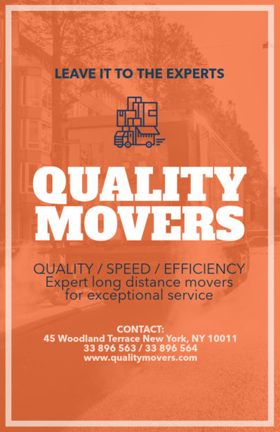Flyer Maker for Movers a220