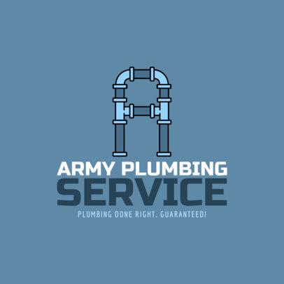 Logo Maker for Plumbing Logos a1239