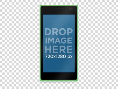 Green Nokia Lumia 730