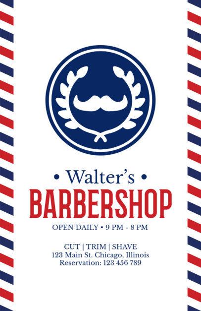 Flyer Maker for Vintage Barber Shops a214