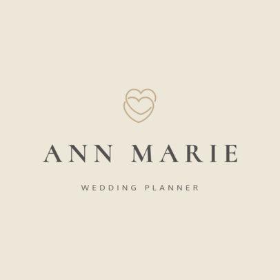 Wedding Planner Logo Maker - Small Graphics a1217