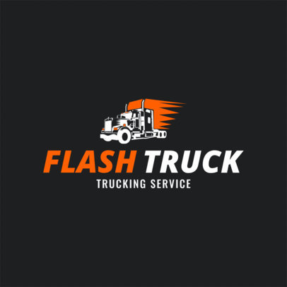 Trucking Company Logo Maker a1181