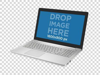 Angled Windows Laptop