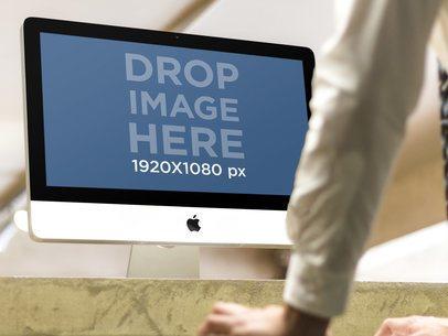 iMac at Office Lobby