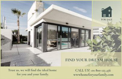 Flyer Maker to Design Horizontal Real Estate Flyers a257