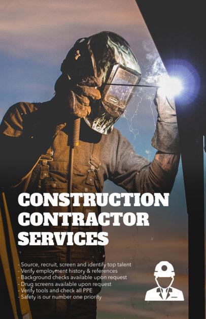 Construction Flyer Maker a245
