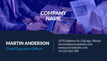 Corporate Business Card Template a241