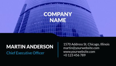 Corporate Business Card Template a241