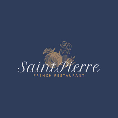 Logo Maker for French Restaurants 1219