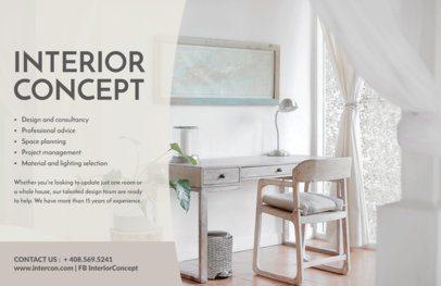 Interior Design Flyer Maker a302