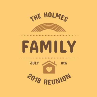 Matching Family Reunion T-Shirt Maker 398d