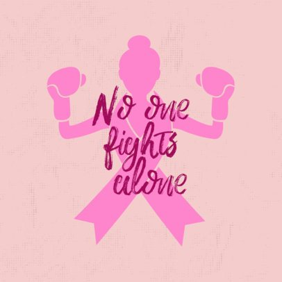 Fight Breast Cancer T-Shirt Maker 897b