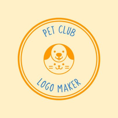 Pet Camp Logo Maker 56d