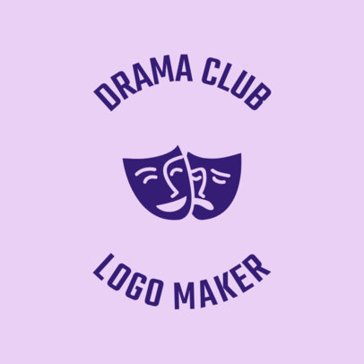 Drama Club Logo Maker 56e