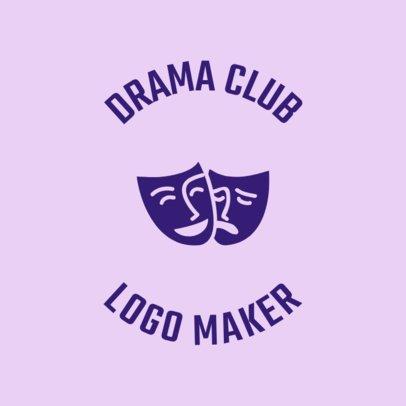 Drama Club Logo Maker 56e