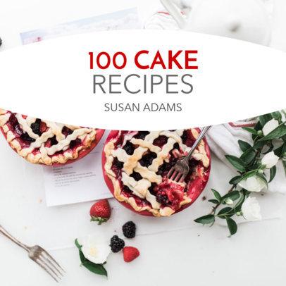 Recipes Book Cover Maker 405e