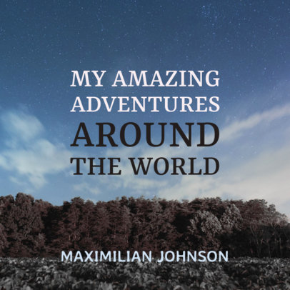 Adventure Book Cover Maker 402c