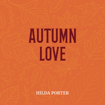 Autumn Graphics Book Cover Maker 402d