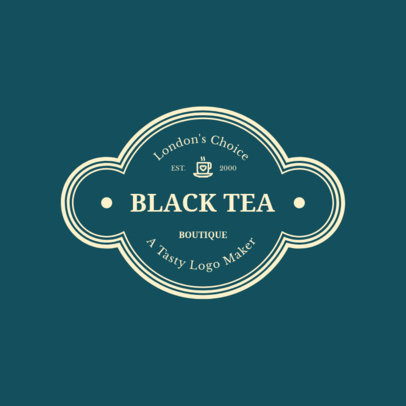 Tea Shop Logo Maker 949c