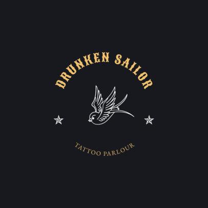 Logo Maker for Tattoo Shops a1247