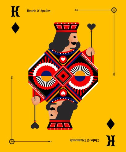 Card T-Shirt Design Maker 8d
