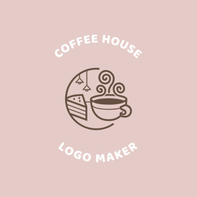 Coffee Shop Logo Maker with Mugs 950a